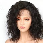 Natural curly wig